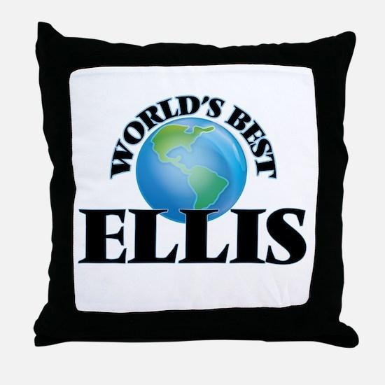 World's Best Ellis Throw Pillow