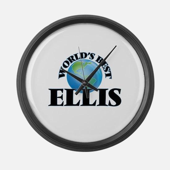 World's Best Ellis Large Wall Clock