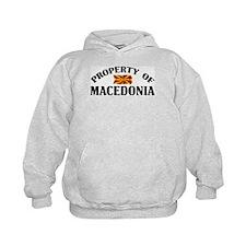 Property Of Macedonia Hoodie