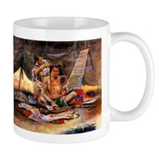 Native American Couple Mug