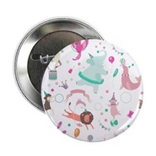 """Circus Animals 2.25"""" Button (10 pack)"""