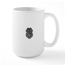 Military Police Badge Mug