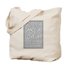Funny Life lessons Tote Bag