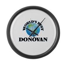 World's Best Donovan Large Wall Clock