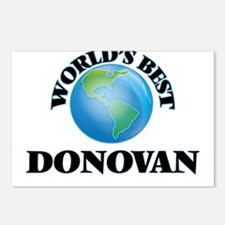 World's Best Donovan Postcards (Package of 8)