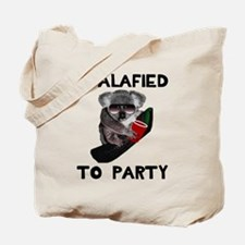 Koalafied to Party Tote Bag