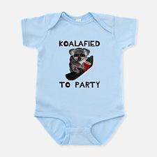 Koalafied to Party Infant Bodysuit