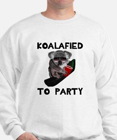 Koalafied to Party Sweatshirt
