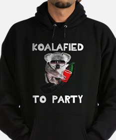 Koalafied to Party Hoodie