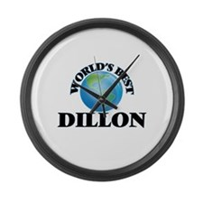 World's Best Dillon Large Wall Clock