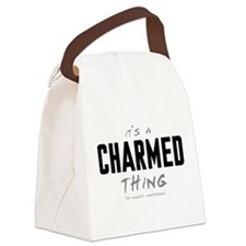 It's a Charmed Thing Canvas Lunch Bag