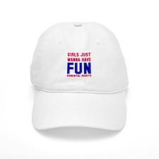 Girls want fundamental rights Baseball Baseball Cap