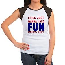 Girls want fundamental Women's Cap Sleeve T-Shirt