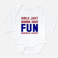 Girls want fundamental Long Sleeve Infant Bodysuit