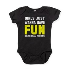 Girls want fundamental rights Baby Bodysuit