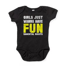 Girls want fundamental rights Baby Bodysuit