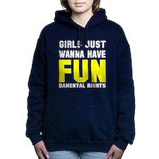 Girls want fundamental r Women's Hooded Sweatshirt