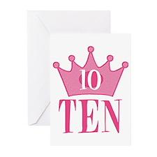 Ten - 10th Birthday - Princess Birthday Party Gree