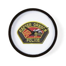 Ranier Police Wall Clock