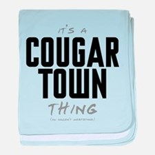 It's a Cougar Town Thing Infant Blanket