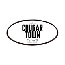 It's a Cougar Town Thing Patches