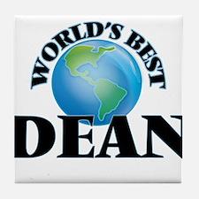World's Best Dean Tile Coaster