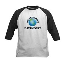 World's Best Davenport Baseball Jersey