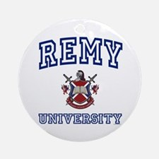 REMY University Ornament (Round)