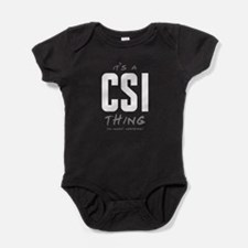 It's a CSI Thing Baby Bodysuit