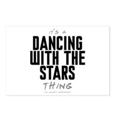 It's a Dancing With the Stars Thing Postcards (Pac