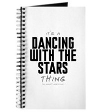 It's a Dancing With the Stars Thing Journal