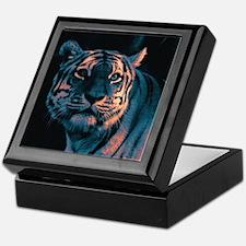 Tiger, Sunset Keepsake Box