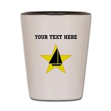 Sail Boat Star (Custom) Shot Glass