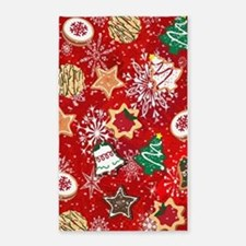 Christmas Cookies 3'x5' Area Rug