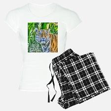 Tiger,Painting Pajamas