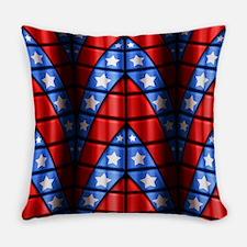 Superheroes - Red, Blue, White Stars Master Pillow