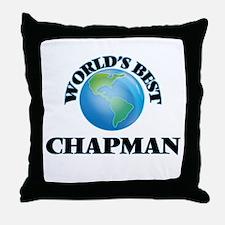 World's Best Chapman Throw Pillow