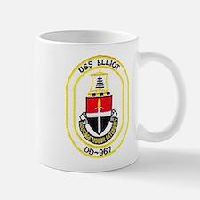 USS ELLIOT Mug