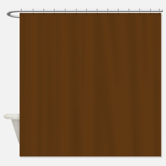 dark brown shower curtain. Dark Brown Solid Color Shower Curtain Curtains  CafePress