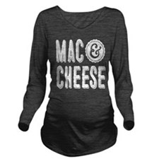 Mac & Cheese Long Sleeve Maternity T-Shirt