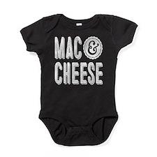 Mac & Cheese Baby Bodysuit