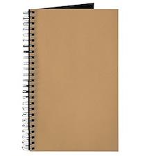 Light Brown Solid Color Journal