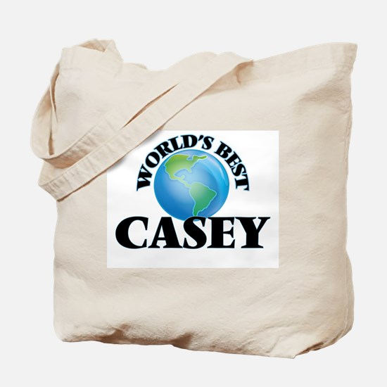 World's Best Casey Tote Bag
