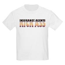 Insurance Agents Kick Ass T-Shirt
