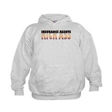 Insurance Agents Kick Ass Hoodie