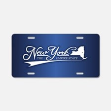 New York State of Mine Aluminum License Plate