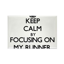 Keep Calm by focusing on My Runner Magnets