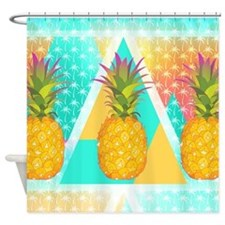Pineapples, Shower Curtain