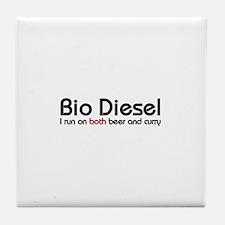 bio diesel Tile Coaster