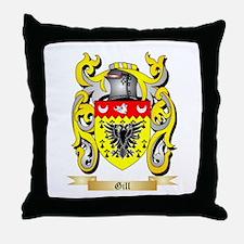 Gill England Throw Pillow